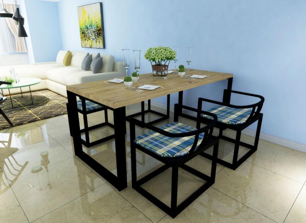 loftowy stół seal tani stół dębowy loft