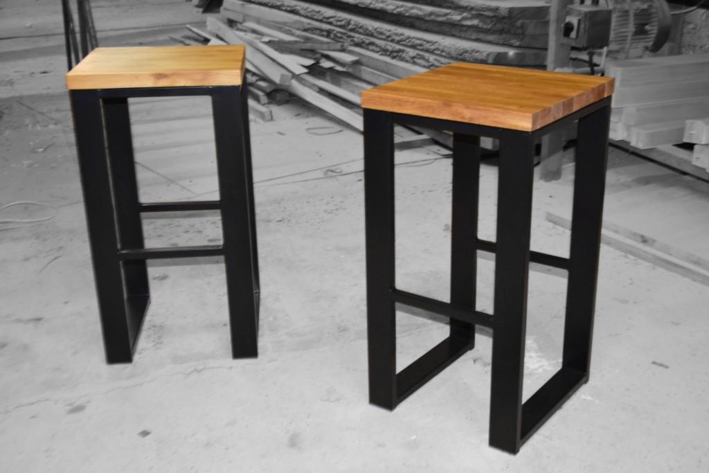 metyalowe krzesło barowe loft producent warszawa odolanów