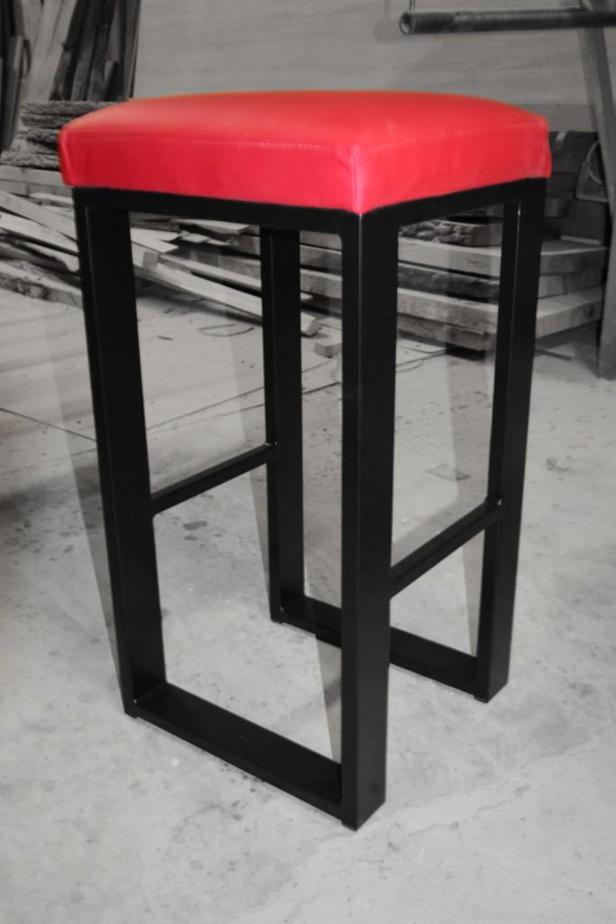 krzesło barowe tapicerowane h2 kedameble