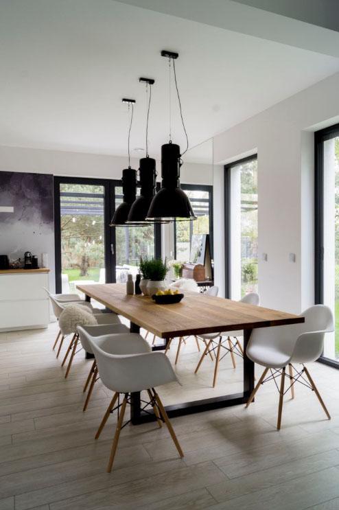 loftowy stół santos
