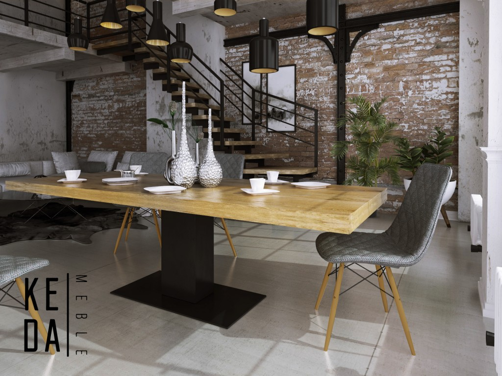stół loft Been 3 rozkładany sół