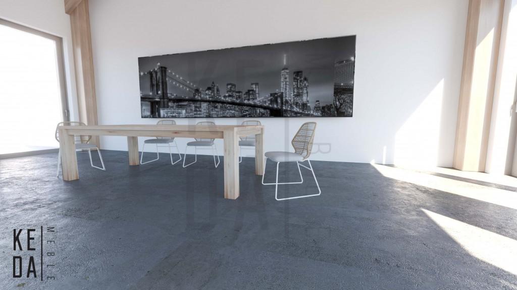 stoł dębowy, stół klasyczny, stół z drewna, drewniany stół, meble z drewna, meble dębowe, producent mebli, stół do salonu, stół do jadalni, stół konferencyjny 2